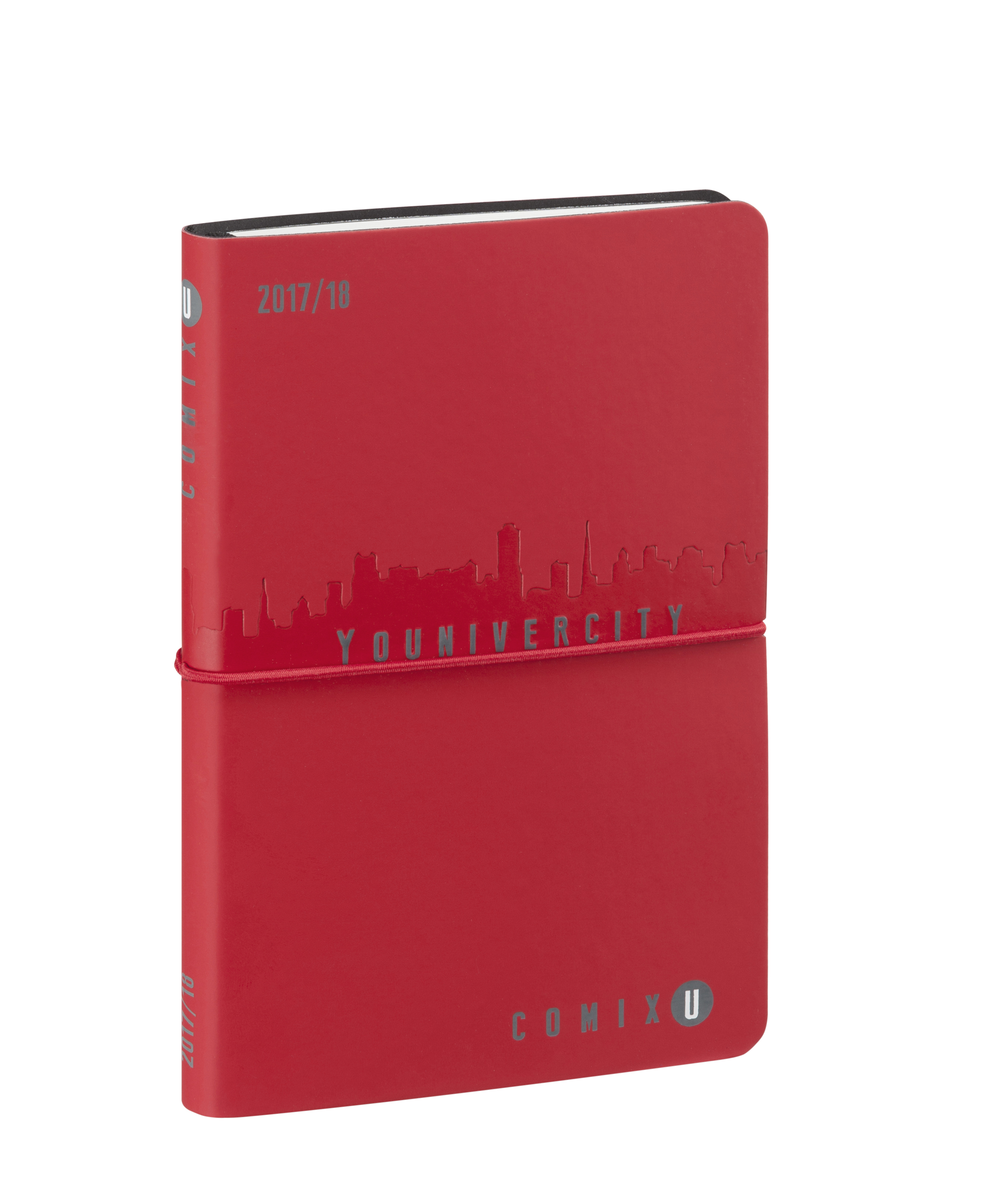 Comix Younivercity rossa con elastico rosso