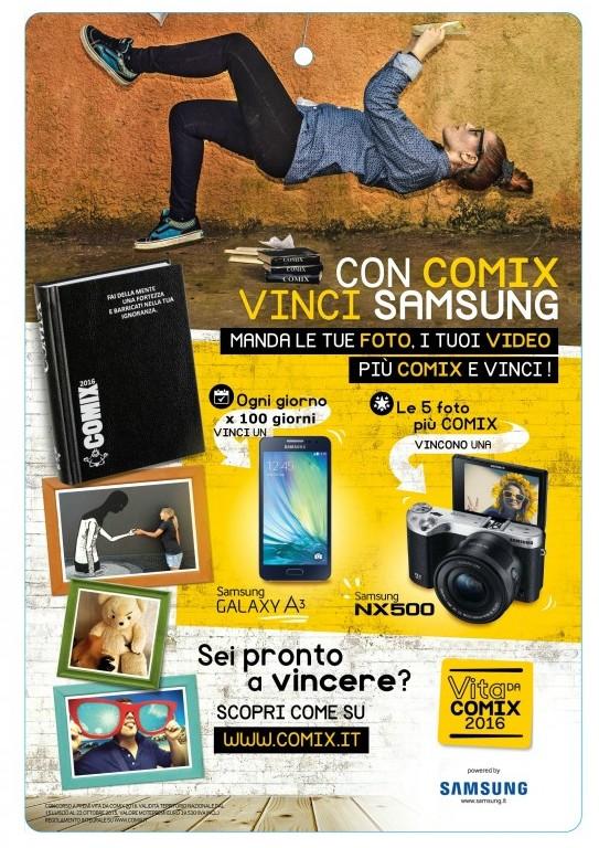 Comix-Samsung-cartello-vetrina-33x48cm