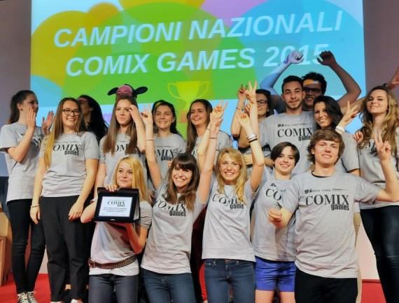 I vincitori di Comix Games 2015